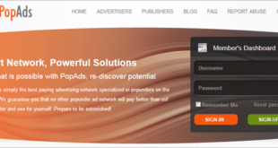 popads review advertiser publisher pop under network