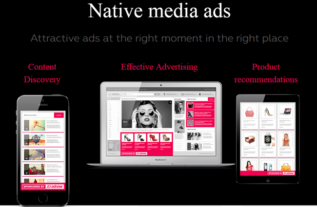 adnow native ad formats